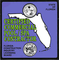 Florida Certified swimming pool servicing contractor