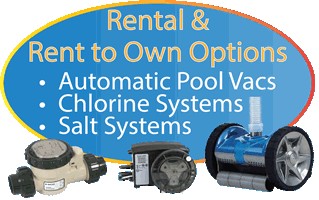 Salt, Vac and Chlorine system rental